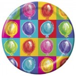 BALLOON PARTY PLATES