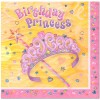 BIRTHDAY PRINCESS NAPKINS