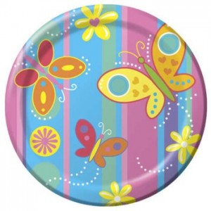BUTTERFLY PARTY PLATES