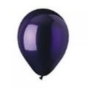 CRYSTAL PURPLE  LATEX BALLOON