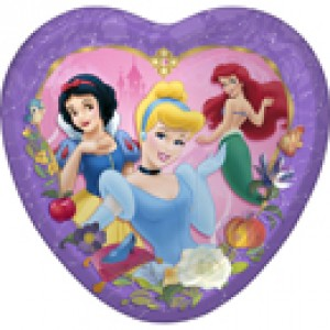 DISNEY PRINCESS PLATES