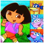 DORA THE EXPLORER NAPKINS