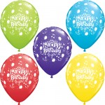 HAPPY BIRTHDAY LATEX BALLOON