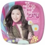 ICARLY PLATES