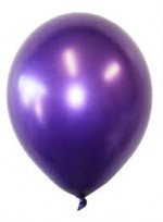 METALLIC PURPLE LATEX BALLOON