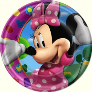 MINNIE MOUSE PLATES