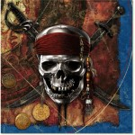 PIRATES OF THE CARIBBEAN NAPKINS