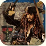 PIRATES OF THE CARIBBEAN PLATES