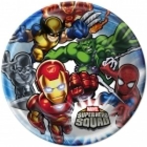 SUPER HERO SQUAD PLATES