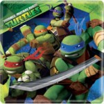 TEENAGE MUTANT NINJA TURTLE PLATES