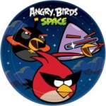 ANGRY BIRDS SPACE PLATES
