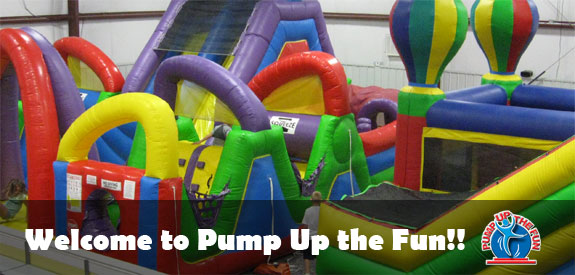 welcome to pump up the fun